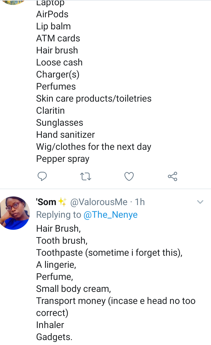 See the replies a lady received on Twitter after asking