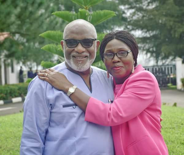 You are a sex offender and you ran away to Canada - Governor Akeredolu?s wife slams critic