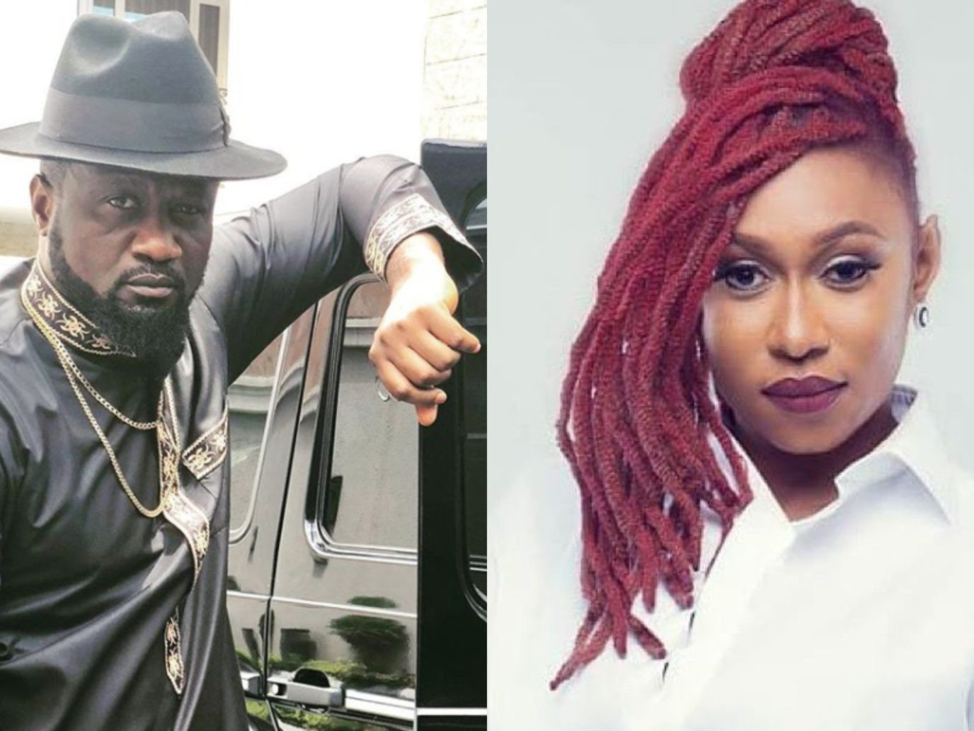 Here is the contract between Cynthia Morgan and Jude Okoye