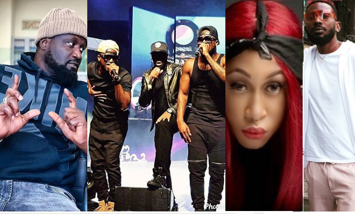 Jude Okoye did his best to help Cynthia Morgan and May D?s careers - Singer, J.Martins reacts to the ongoing contract controversy