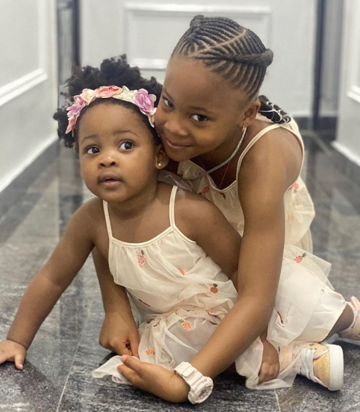Sandra Okagbue shares adorable photos of her and Flavour