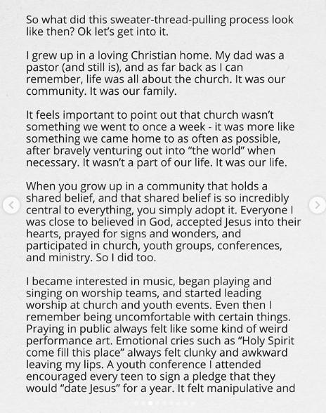 I no longer believe in God - Canadian gospel musician, Jonathan Steingard