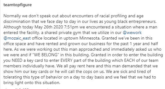 White Minneapolis man loses his office lease for racially profiling black men