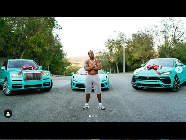 Rapper, Yo Gotti splashes $1.3m on Rolls-Royce, Lamborghini Urus, Ferrari F8, and Richard Mille watch to celebrates his 39th birthday (Photos/Video)