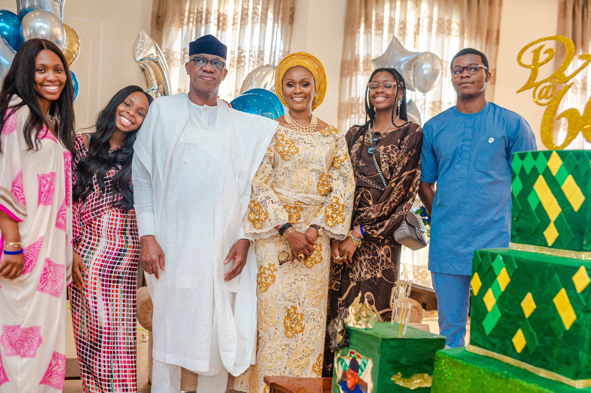VP Yemi Osinbajo, Dangote, Pastor Adeboye, others attend virtual 60th birthday thanksgiving service of Ogun state governor, Dapo Abiodun (photos)