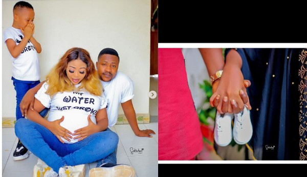 Actress Wunmi Ajiboye welcomes her second child with husband, Segun Ogungbe