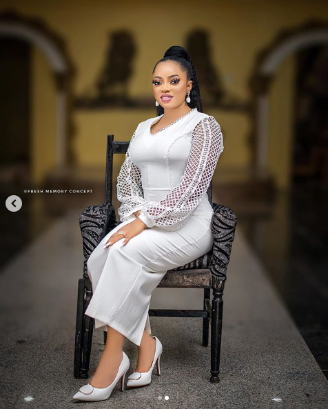Wife of Alaafin of Oyo, Anu celebrates her birthday with beautiful new photos