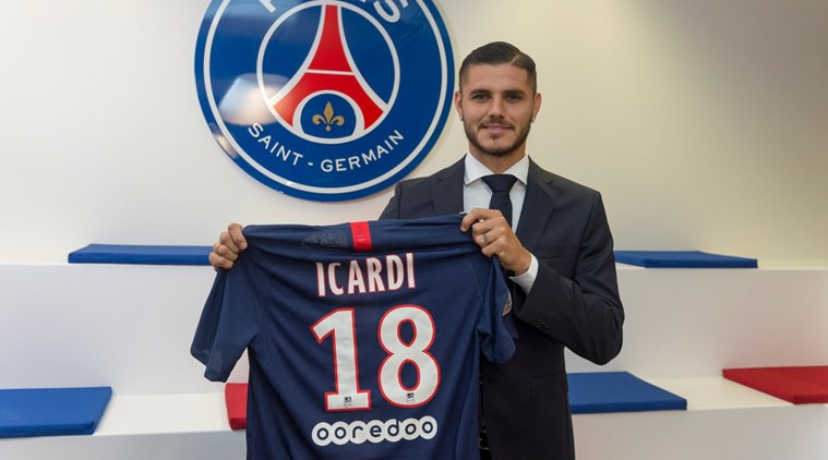 French champions, PSG confirm ?52m signing of ?Mauro Icardi from Inter Milan following successful loan spell