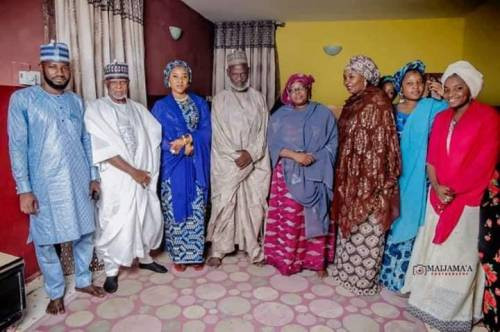 Nigeria Customs Service chief  Hameed Ali marries a new wife (photos)