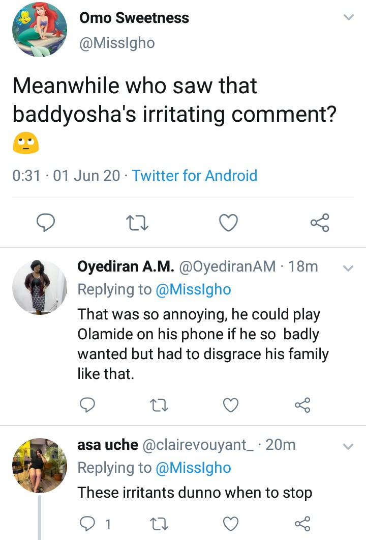 Nigerians slam Baddy Oosha for his conduct on Kirk Franklin and Fred Hammond