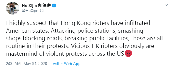 Racism against ethnic minorities in the US is a chronic disease of American society - China reacts to protests in US