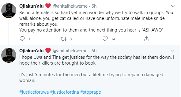 Twitter user recounts how one-chance operators took turns to molest her