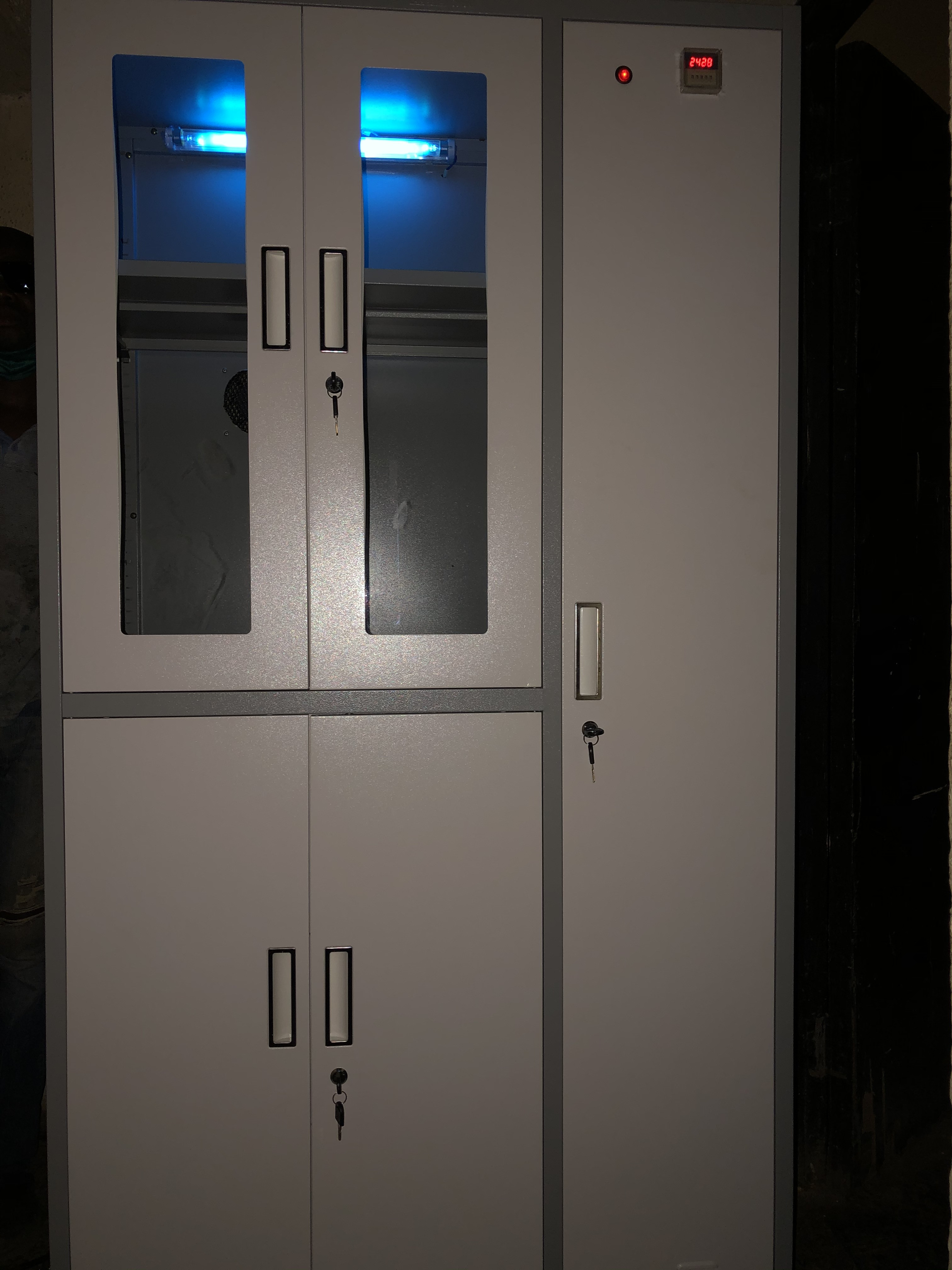 Sanitize your belongings with Ultraviolet Cabinets