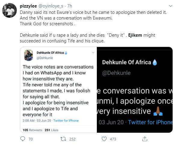 Dehkunle of Afric