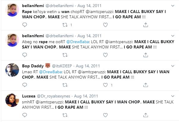 Peruzzirape tweets