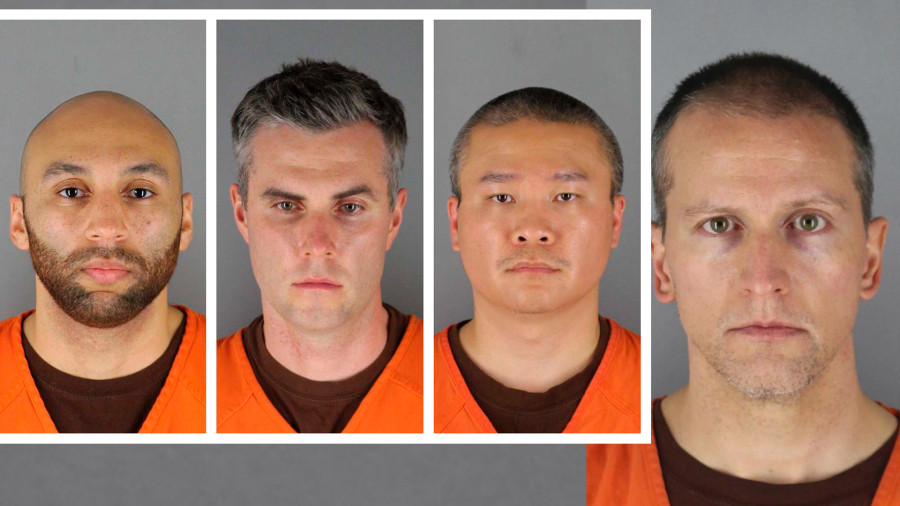 Minneapolis officers now charged in George Floyd's death; Mugshots released