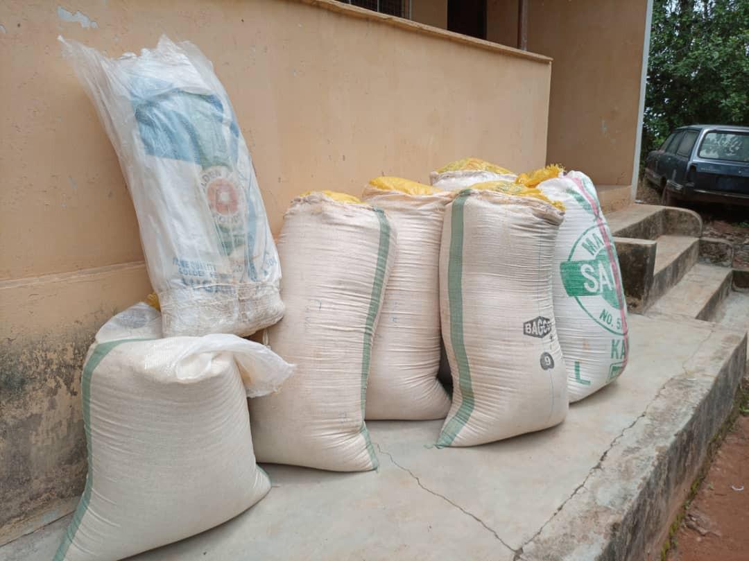 Cannabis hidden in sacks of garri intercepted by NDLEA