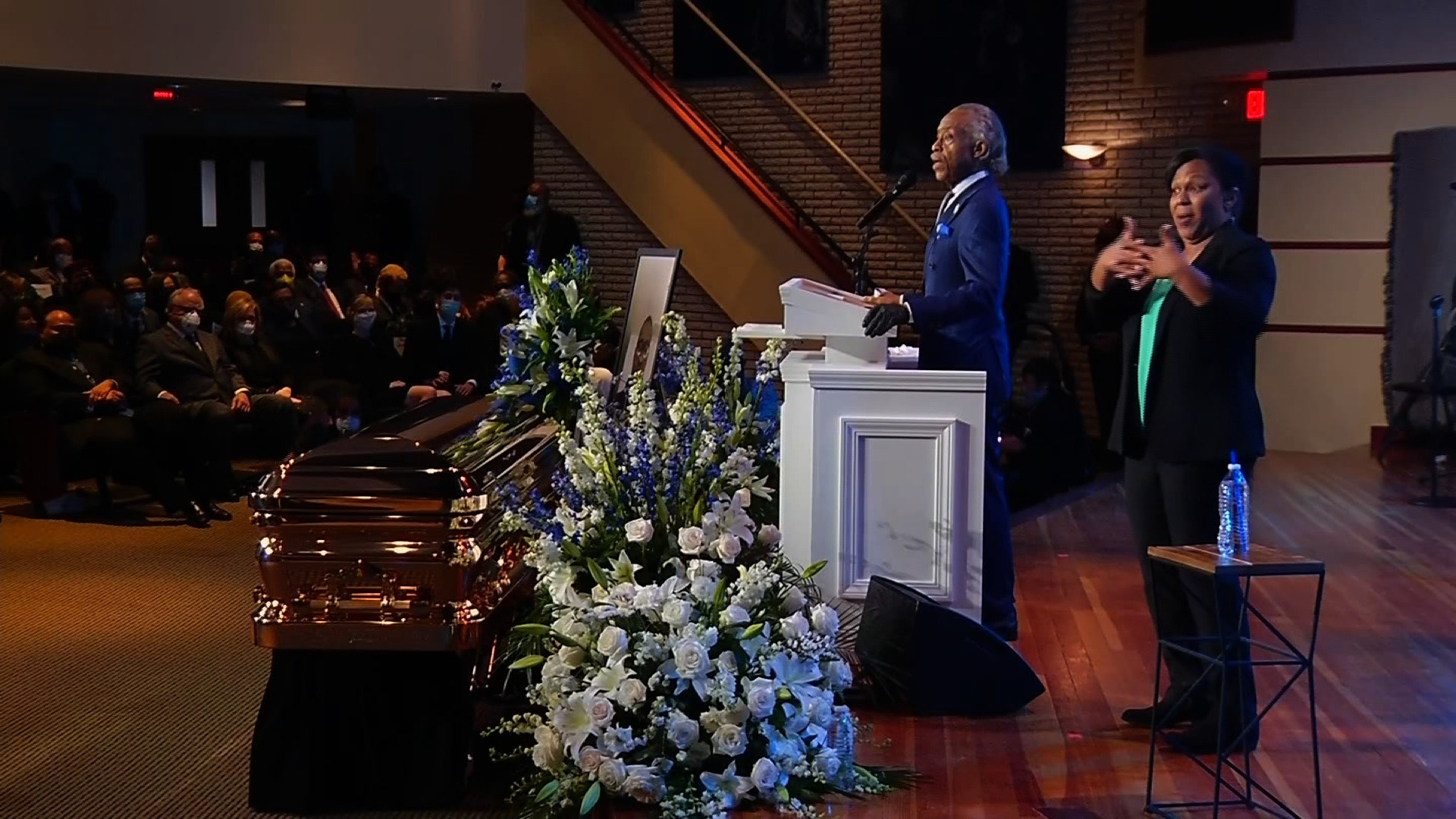 Reverend Al Sharpton delivers powerful eulogy at George Floyd