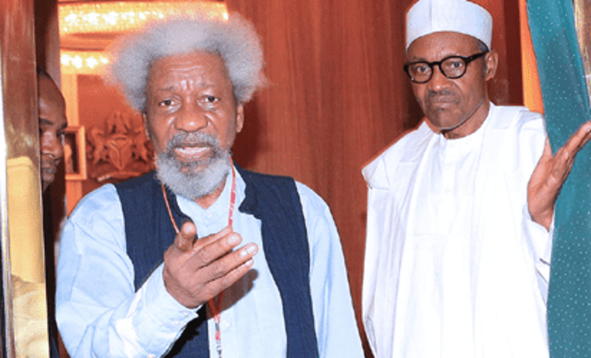 The president is not in charge of this nation - Wole Soyinka says