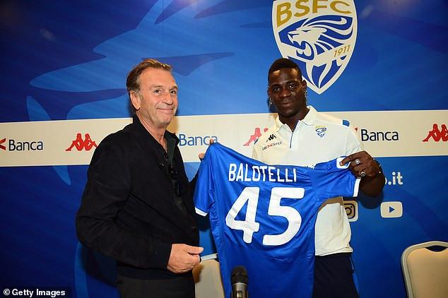 Mario Balotelli ?sacked