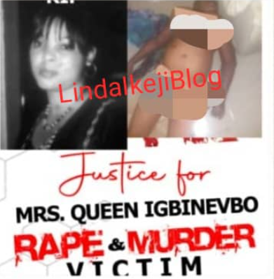 Pregnant wife of Edo politician is raped and murdered in Benin, sparking protest (photo/video)