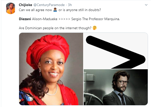 image result for Nigerians react to former Minister of Petroleum,  Diezani Alison-Madueke