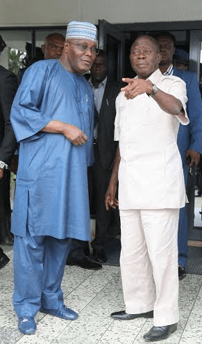 Oshiomhole kicked against fuel subsidy removal under Obasanjo - Atiku