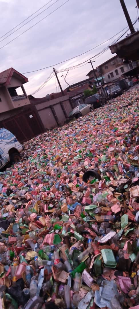 Surulere overtaken by heaps of refuse after