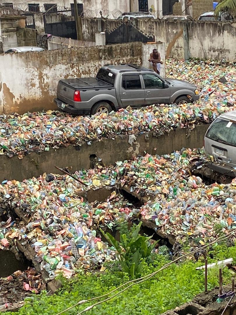 image result for Surulere overtaken by heaps of refuse