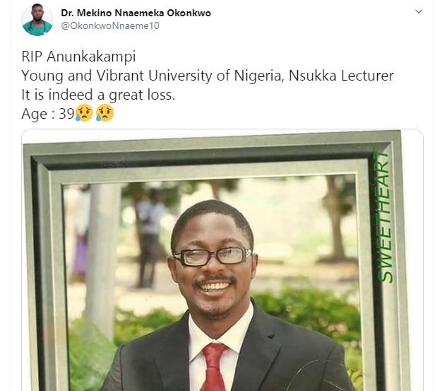 UNN lecturer