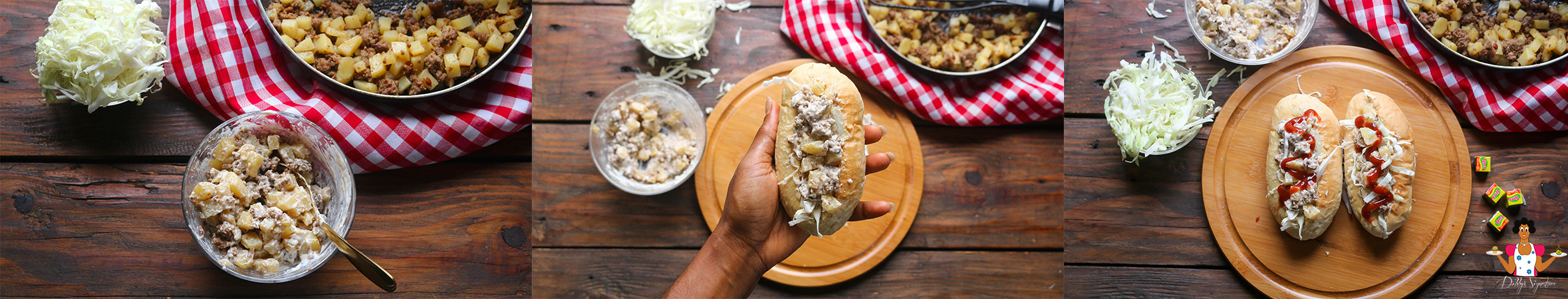 The Terra-fic Way to make Potatoes Sandwich at home