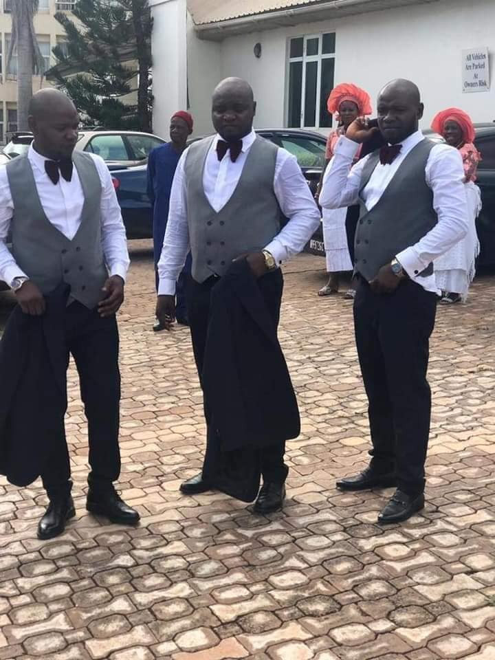 Two sets of triplets marry each other on the same day in Enugu (photos)