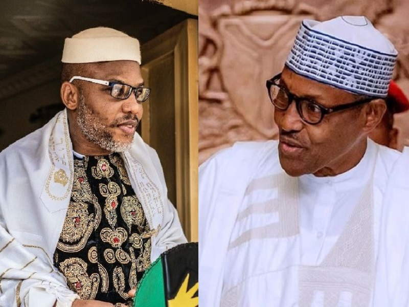 We have destroyed Nigeria and the name Nigeria will seize to exist when we are done - Nnamdi Kanu fires back at Presidency