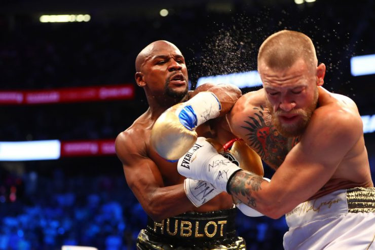 Floyd Mayweather sends a warning to Conor McGregor as he reacts to his shock retirement