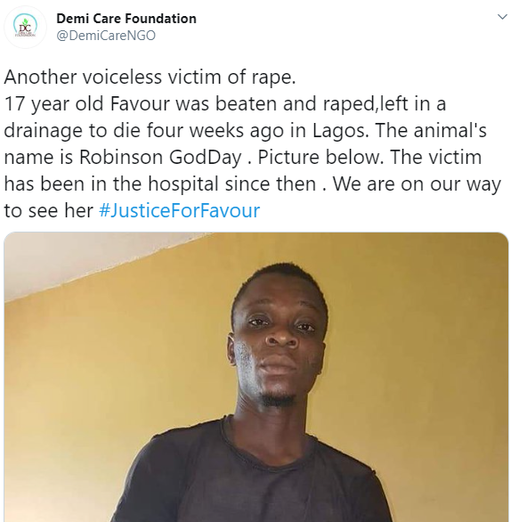 Teenager left with spinal court injury after she was violently beaten up and raped by same man who allegedly raped her few months ago(photos)