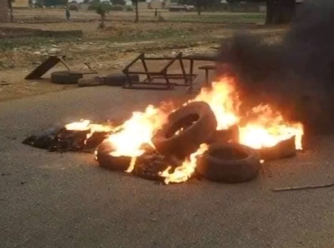 Kastina youths protest