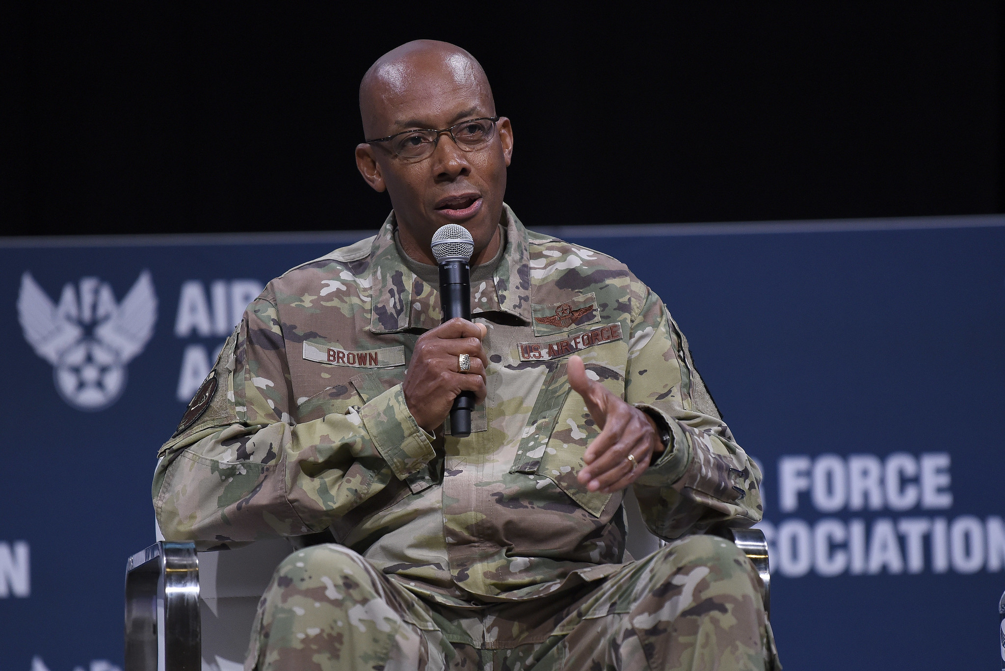 Gen. Charles Brown confirmed as first Black military service chief in American history