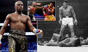 Floyd Mayweather takes a swipe at Muhammad Ali as he rates himself as the greatest boxer in history