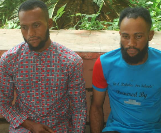Two men arrested with 36 ATM cards suspected to have been stolen in Niger(photo)