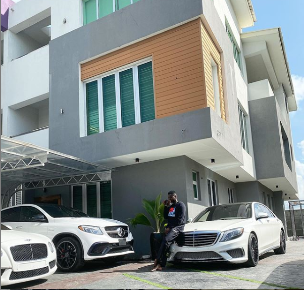 Kizz Daniel shows off his house and his expensive cars? (photo)