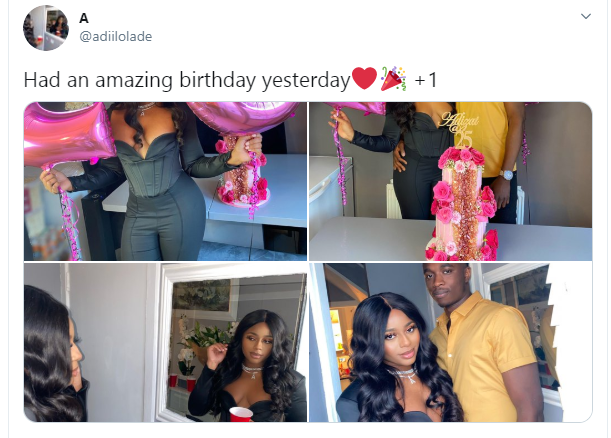 Nigerian lady reveals why it is good to post your boyfriend
