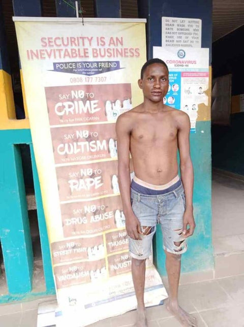 23-Year-old man arrested for defiling 3-year-old girl in Ogun (Photo)