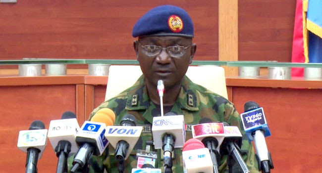 Boko Haram insurgents killed 81 in Borno for revealing their location to soldiers - Defence Headquarters