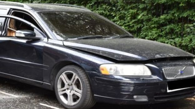 Police renew appeal for information about car linked to the murder of a young Nigerian man outside his home in the UK