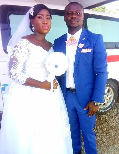 Corps members who met at Jigawa state orientation camp tie the knot (photos)