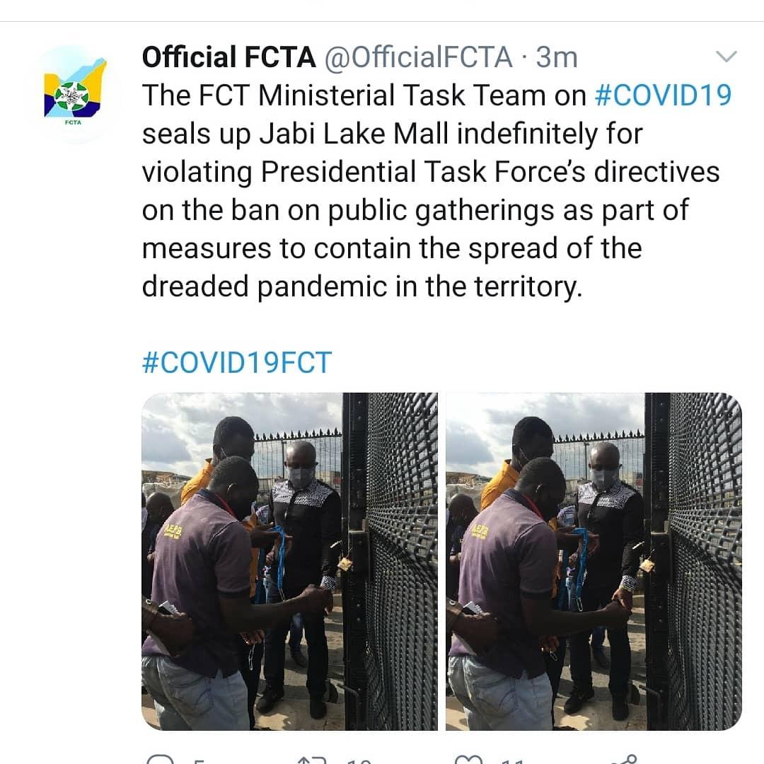 Jabi Lake Mall shut down indefinitely over Naira Marley?s show