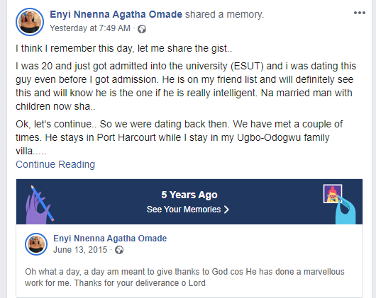 Nigerian lady recounts how she almost lost her virginity to a man who dumped her to marry someone else