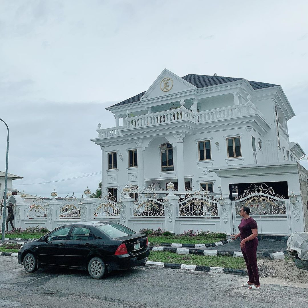 pictures of ehi ogbebor new house