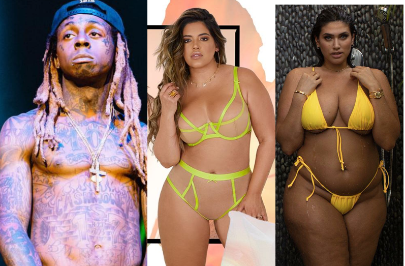 Rapper, Lil Wayne moves on with another plus-size model two months after calling off his engagement to model La