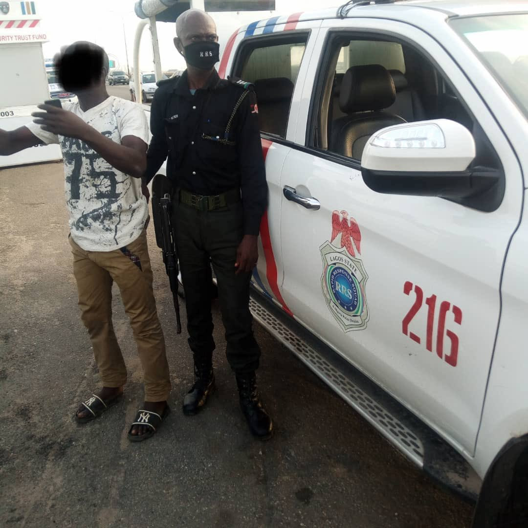 "Police in Lagos prevent ""frustrated"